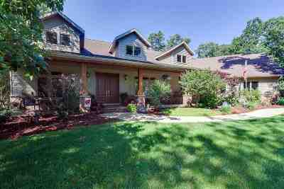 Green County Single Family Home For Sale: N2834 Pine Tree Rd