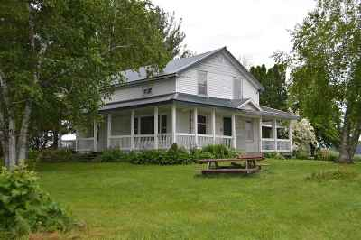 Wisconsin Dells Single Family Home For Sale: W14688 Hwy 127