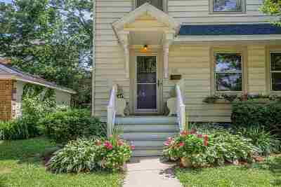 Madison Single Family Home For Sale: 1111 Garfield St