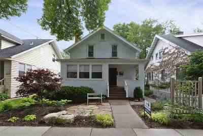 Madison Single Family Home For Sale: 1611 Madison St