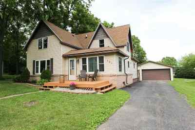 Merrimac WI Single Family Home For Sale: $209,900