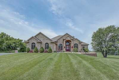 Deforest Single Family Home For Sale: 7757 Clinton Rd