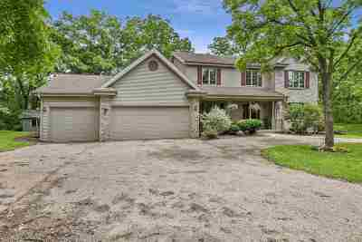 Madison Single Family Home For Sale: 4232 Sprecher Rd