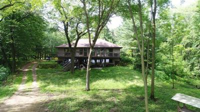 Sauk County Single Family Home For Sale: E4635 Riverside Dr