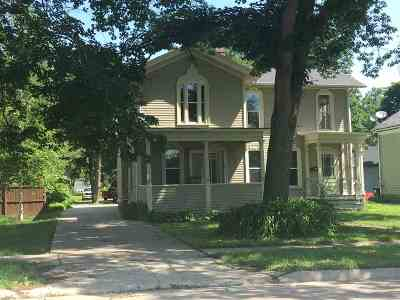 Evansville Multi Family Home For Sale: 242-244 W Main St
