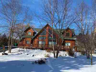 Baraboo Single Family Home For Sale: S3925 County Road Bd
