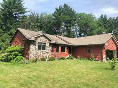 Green County Single Family Home For Sale: N6249 Pine Haven Rd