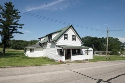 Iowa County Single Family Home For Sale: 1754 County Road W
