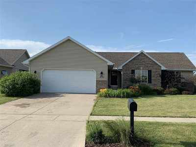 Evansville Single Family Home For Sale: 600 Emmanuel Ct