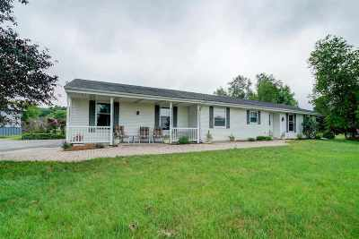 Rock County Single Family Home For Sale: 8517 W Seeman Rd