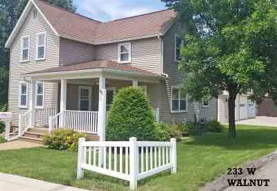 Lancaster WI Single Family Home For Sale: $169,000