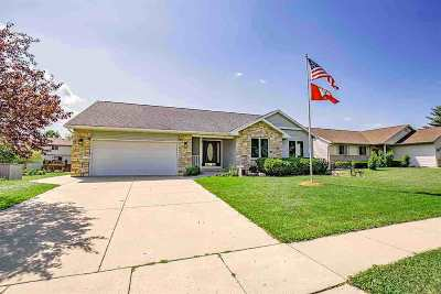 Deforest Single Family Home For Sale: 604 Greenfield Dr