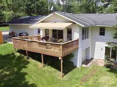 Sauk County Single Family Home For Sale: E6267 Pine Rock Rd