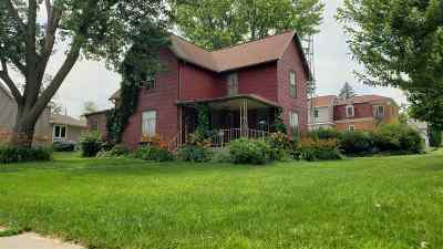 Lancaster WI Single Family Home For Sale: $64,500
