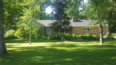 Rock County Single Family Home For Sale: 6750 W Fenrick Rd