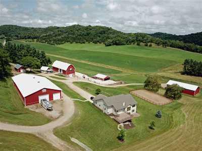 Sauk County Single Family Home For Sale: S11648 Soeldner Rd