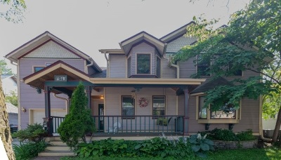 Madison Single Family Home For Sale: 168 Proudfit St