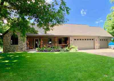 Rock County Single Family Home For Sale: 10209 W Rustic Ct