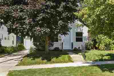 Madison Single Family Home For Sale: 806 Woodrow St