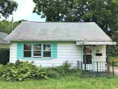 Madison Single Family Home For Sale: 50 Lansing St