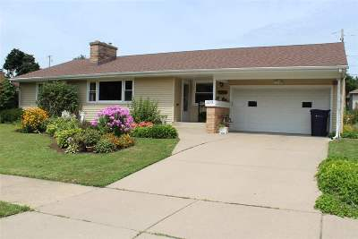 Janesville Single Family Home For Sale: 1215 Home Park Ave