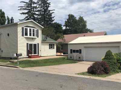Cassville Single Family Home For Sale: 522 W Amelia St