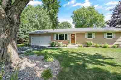 Deforest Single Family Home For Sale: 3697 Shiloh Rd