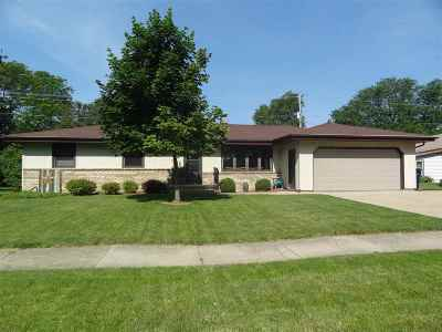 Janesville Single Family Home For Sale: 42 S Sumac Dr