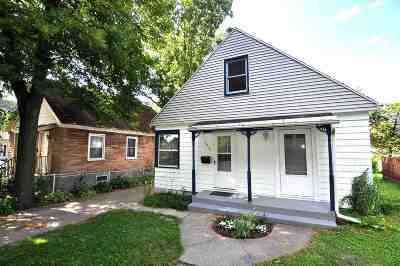 Madison Single Family Home For Sale: 2302 Myrtle St