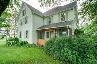 Arlington Single Family Home For Sale: W6490 County Road K