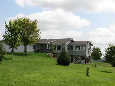 Iowa County Single Family Home For Sale: 2439 County Road K