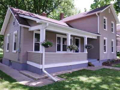 Edgerton Single Family Home For Sale: 14 Lord St