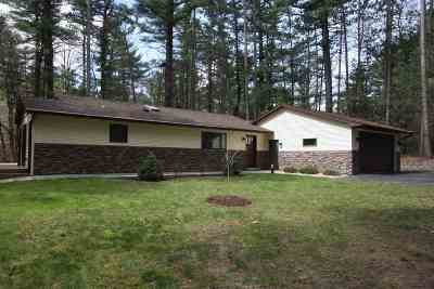 Wisconsin Dells Single Family Home For Sale: S1722 White Birch Dr