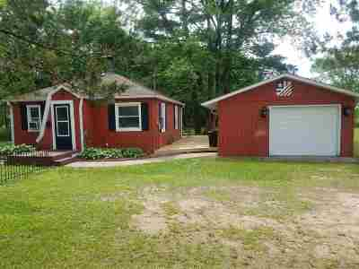 Wisconsin Dells Single Family Home For Sale: 3681 Hwy 13