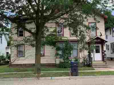 Rock County Multi Family Home For Sale: 44 N Madison St