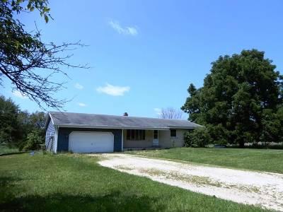Edgerton Single Family Home For Sale: 10101 Kidder Rd