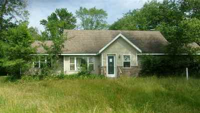 Pardeeville Single Family Home For Sale: N7230 Hwy 44