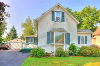 Milton Single Family Home For Sale: 715 W Madison Ave