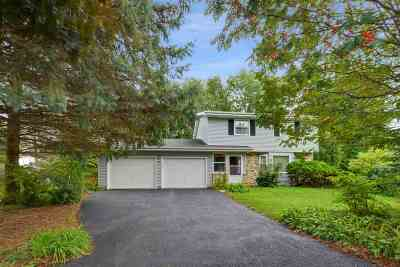 Waunakee Single Family Home For Sale: 1106 S Cambridge Ct