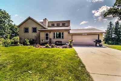 Green County Single Family Home For Sale: W407 Dunphy Rd