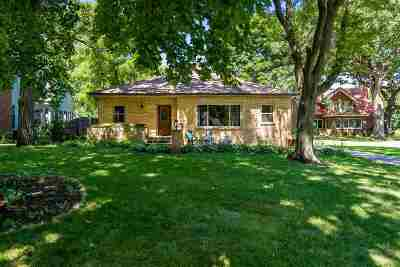 Beloit Single Family Home For Sale: 1215 Chapin St