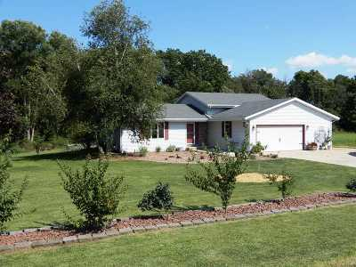 Edgerton Single Family Home For Sale: 9070 N County Road H