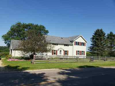 Richland Center Single Family Home For Sale: 18758 County Road A