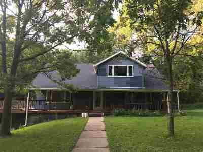 Merrimac WI Single Family Home For Sale: $550,000