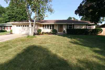 Janesville Single Family Home For Sale: 838 Suffolk Dr