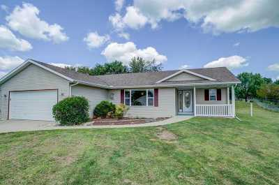 Evansville Single Family Home For Sale: 652 E Countryside Dr