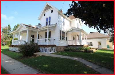 Marshall Single Family Home For Sale: 304 W Main St