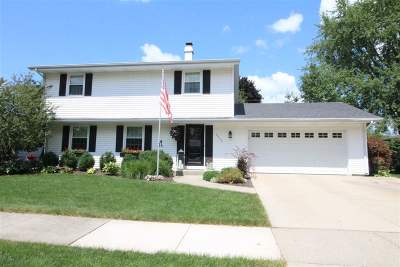 Janesville Single Family Home For Sale: 2525 Mt Vernon Ave