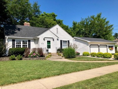 Janesville Single Family Home For Sale: 638 S Fremont St