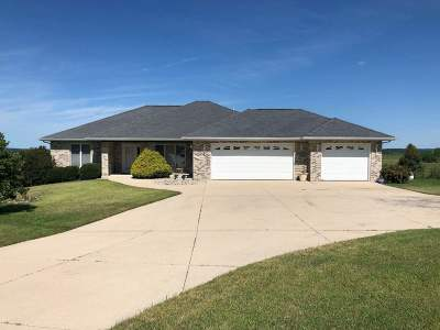 Green County Single Family Home For Sale: N5731 Frances Cir